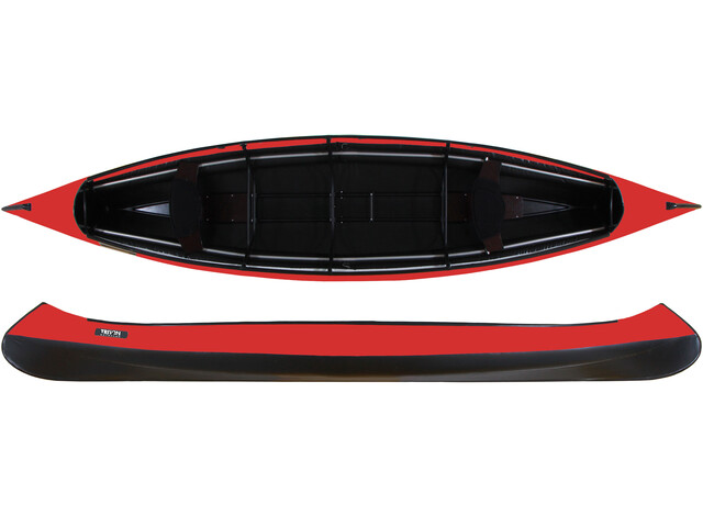 Triton advanced Canoe, red/black